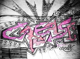 Crease Doodle Wall 260112 by Mr-Crease