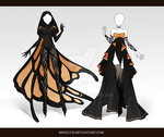 (CLOSED) Adoptable Outfit Auction 66-67 by Risoluce