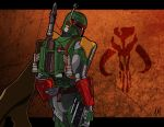 Boba Fett Anime Style 2 by Amish56