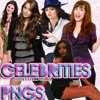 Celebrities PNGs by GoddessSellyGomez