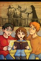 hp: DH Ch21, Three Brothers by YazzyDream