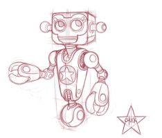 Robot by ChuckDoodles