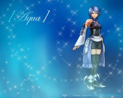 KH Wallpaper - Aqua by Roxas-Number-XIII