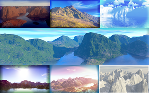 Some Good Ol' Landscapes by Kiwii3364