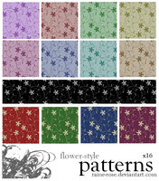 Flower-Style Patterns by Raine-Rose