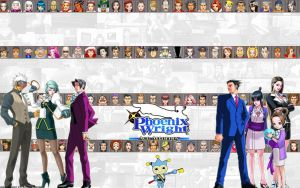 Phoenix Wright Trilogy BG by UrbanGuy
