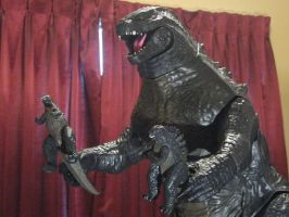Jakks Pacific Godzilla by Mr-X-The-Kaiju-Freak