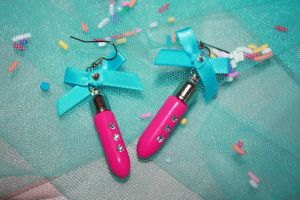 Bullets and Bows Earrings by misstaraleexo