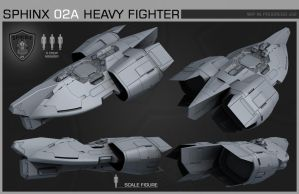 SPHINX HeavyFighter wip01 by NovA29R