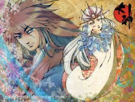 Okami: The Wolves of Nippon by tepaipascual
