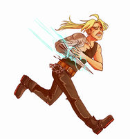Edward Elric Commission by Kisiki
