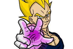 Dragon Ball Z Vegeta by ChaosBloodLust