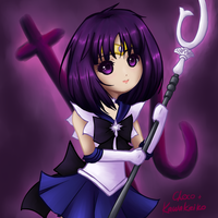 Collab: Sailor Saturn by Elistanel