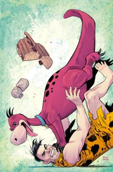 The Flintstones #3  Variant Cover by BilquisEvely