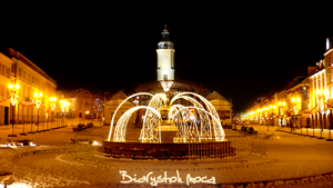 Bialystok at night by LongmanPL
