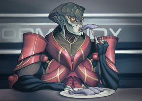 Prothean Cuisine by Akalanthis