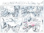 Hallber And Helen Outing Story Board 1 by SteLo-Productions95