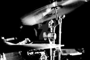 Hear the drummer get wicked BW by WorldII