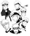 Sketches - Naruto by TJverhagen
