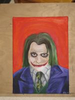 Why so serious? by crimson-ixvix