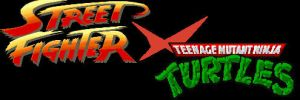 Street Fighter X TMNT In-Game Logo by pm58790