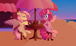 Ipun Contest Entry- Sunset Beach Hangout! by Mdragonflame