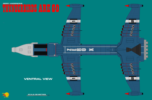 Gerry Andersons Thunderbirds Are Go Zero-X Sheet 8 by ArthurTwosheds