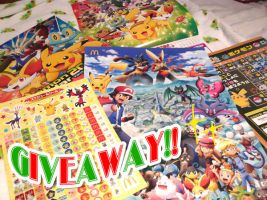 Pokemon XY Goods Giveaway! by beepaws
