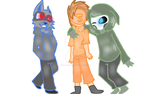 The Critical three Fan art by WolfGamer1234