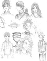 City of bones- characters by leduemedaglie