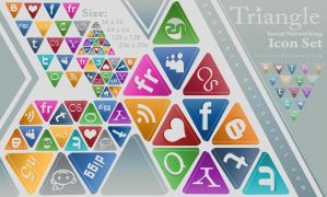 Triangle  Social Networking by demeters