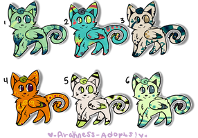Leighlis Batch 3 ONE LEFT by StarSushi-Adopts