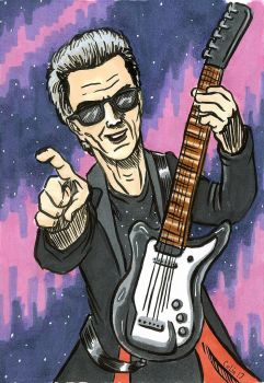 12th Doctor and Guitar by ColinRichards