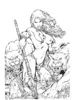Shanna By Ed Benes by JPMayer