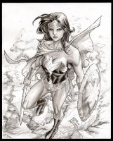 Wonder Woman by manapul
