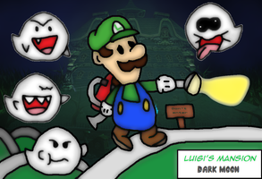 Luigi's Mansion Path by thegamingdrawer