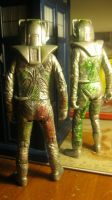 Rogue Cybermen customs from behind by spectrum-sparkle