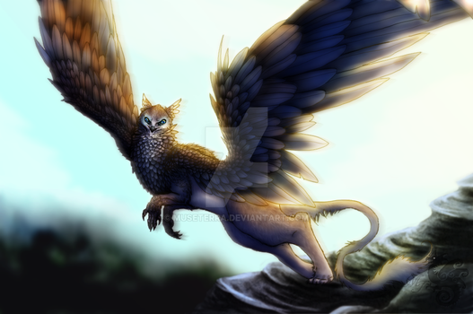 Gryphon by MuseTerra