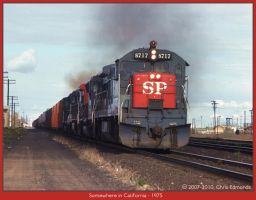 Somewhere in California by classictrains