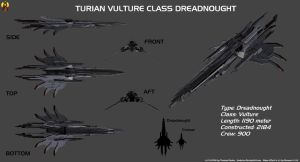 Turian Vulture class Overview by Euderion