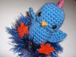 Chicken Amigurumi by Sparrow-dream