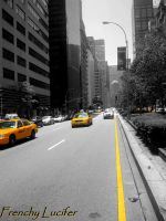 Taxis NYC by HLea33