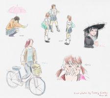 Tokyo Quicksketch by aimee5
