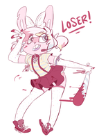 Strike you're out by GiggleBunnys
