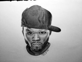 50 cent drawing by uniquebreal