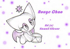 Rouge Chao by kawaii-kitsune