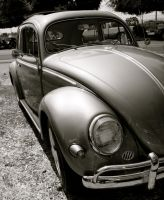 '58 VW Beetle by kristenfin95