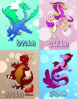 Birthday Dragons by CBSorgeArtworks