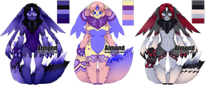 Lux Adoptables (Almond Customs) by LovelessKia
