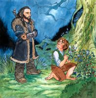 Thorin Does Not Approve by carcadann